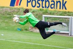 Målvakt Yann Sommer i klänning av Borussia Monchengladbach Arkivbilder