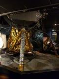 Mån- Lander royaltyfri fotografi
