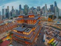 2016 mån- tempel för nytt år/Buddha Royaltyfri Foto