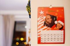 Månadkalender Royaltyfri Foto