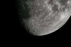 Måne och skuggor Royaltyfria Foton