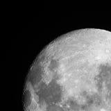 Måne på himlen. Royaltyfri Foto