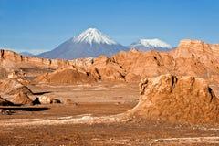 Månedal, Atacama, Chile Royaltyfri Bild