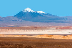 Månedal, Atacama, Chile Arkivfoto