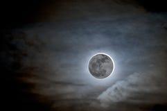 Måneförmörkelse royaltyfri illustrationer