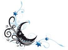 Månegräns Royaltyfri Bild
