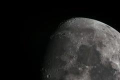 Månekrater Arkivbilder