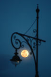 Månelampa Arkivfoto