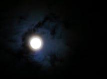 Månemolncirkel Arkivfoto