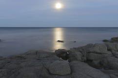 Månen Royaltyfri Fotografi