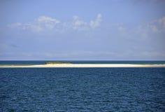 Månepunktbank Fraser Island Royaltyfri Bild