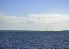 Månepunktbank Fraser Island Royaltyfria Foton
