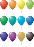 mång- ballong vektor illustrationer