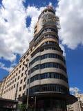Mång- berättelsebyggnad, Madrid Royaltyfri Foto