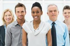 Mång- etnisk affärsgrupp