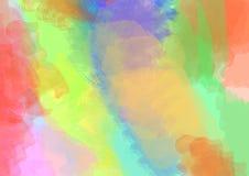 Mång--färgad mång--färgad målad bakgrund arkivfoto
