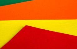 Mång--färgad pappers- bakgrund Royaltyfri Fotografi