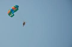 Mång--färgad paraclown Royaltyfri Bild