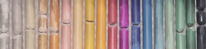 Mång--färgad pastell Färgpaletten Royaltyfri Bild