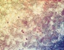 Mång--färgad textural vägg, beigablått Royaltyfri Fotografi