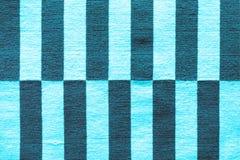 Mång--färgade band på tyget Färgrik traditionell peruansk stil, närbildfiltyttersida arkivfoto