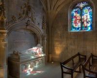 Mång--färgat ljus i en kyrka Royaltyfri Fotografi