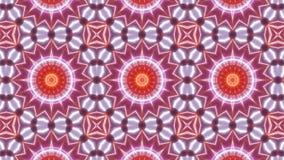 Mång- färgkalejdoskopmodell med det abstrakta korset vektor illustrationer
