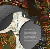 Mång- i lager abstrakt bakgrund Arkivfoton