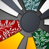 Mång- i lager abstrakt bakgrund Royaltyfria Bilder
