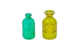 Mång- kulöra flaskor Royaltyfri Bild