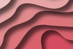 Mång- lager för papercut för lagerfärgtextur 3D i lutning Abstrakt papper klippte konstbakgrundsdesignen för websitemall realisti Royaltyfria Bilder