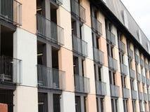 Mång--storey parkeringshus Arkivfoto
