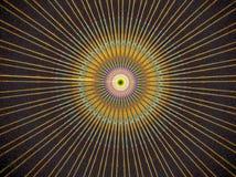 mång- strålglans för färg Royaltyfria Bilder