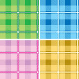 mång- tartan vektor illustrationer
