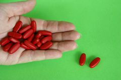 mång- vitaminer Royaltyfri Bild