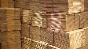 Många askar i lager arkivfilmer