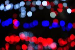 Många bakgrund för ljus för färgbokehabstrakt begrepp Arkivfoton