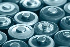 Många batterier Arkivfoton