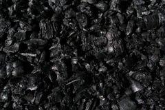 många beståndsdelar av närbilden för svart aska royaltyfri fotografi