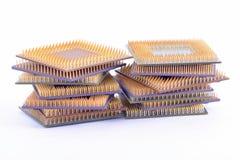 Många CPU Royaltyfria Bilder