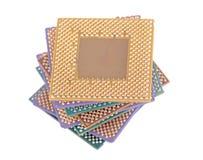 Många CPU Royaltyfri Fotografi