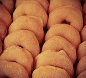 Många donuts Royaltyfria Bilder