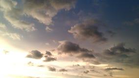 Många färgar himmel Royaltyfria Foton