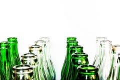 Många flaskor Royaltyfria Foton