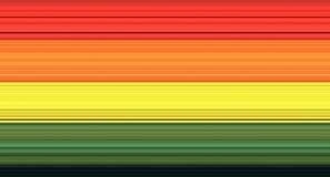 Många geometriska texturer för färger, färgrika bakgrunder för designkonst royaltyfri illustrationer