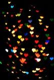Många hjärtor arkivfoto