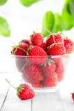 många jordgubbar Royaltyfri Fotografi