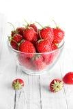 många jordgubbar Arkivbilder