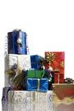Många julgåvor Arkivfoto