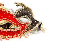 Många karnevalmaskeringar Royaltyfri Bild